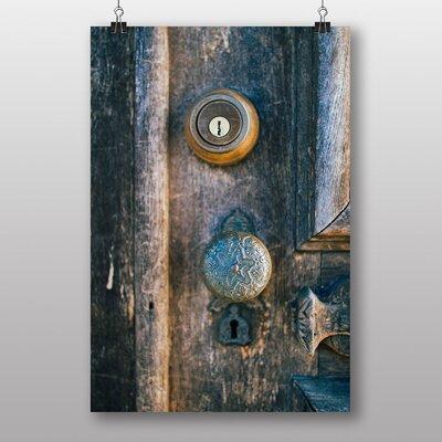 Big Box Art 'Vintage Door Handle' Art Print
