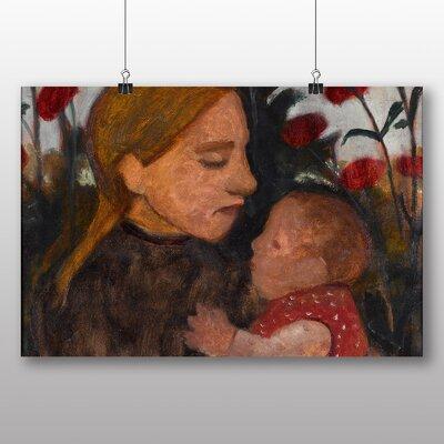 Big Box Art 'Girl with Child' by Paula Modersohn Becker Art Print