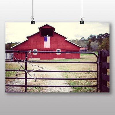 Big Box Art 'Nashville Farm House No.1' Photographic Print