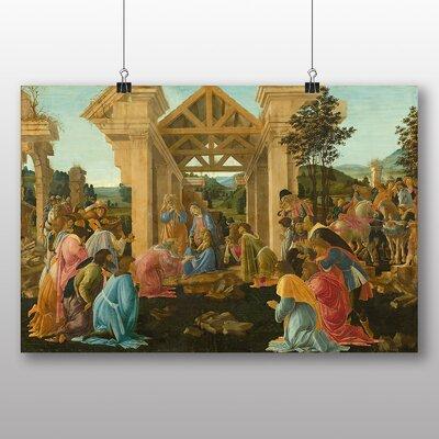 Big Box Art 'The Adoration of the Magi' by Sandro Botticelli Art Print