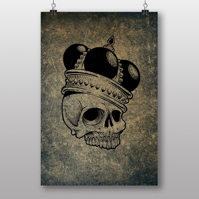 Big Box Art 'Skull with a Crown' Graphic Art