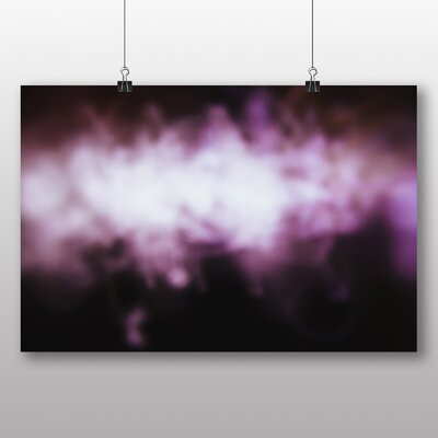 Big Box Art 'Purple Abstract Blur' Graphic Art