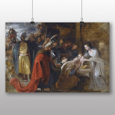 Big Box Art 'The Adoration of the Magi' by Peter Paul Rubens Art Print
