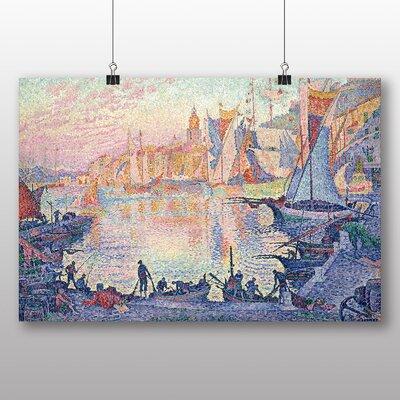 Big Box Art 'The Port of Saint Tropez' by Paul Signac Art Print