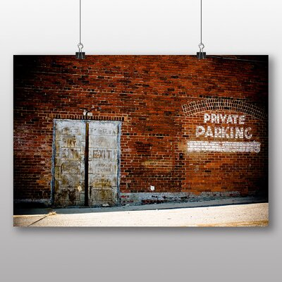 Big Box Art 'Private Parking' Photographic Print