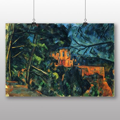 Big Box Art 'Chateau Noir' by Paul Cezanne Art Print