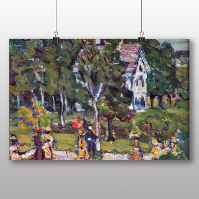 Big Box Art 'Sunday Afternoon' by Maurice Prendergast Art Print