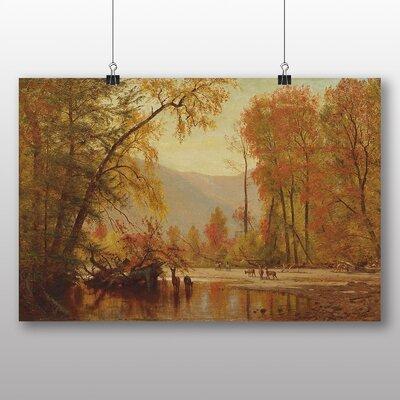 Big Box Art 'Autumn on the Delaware' by Thomas Worthington Whittredge Photographic Print