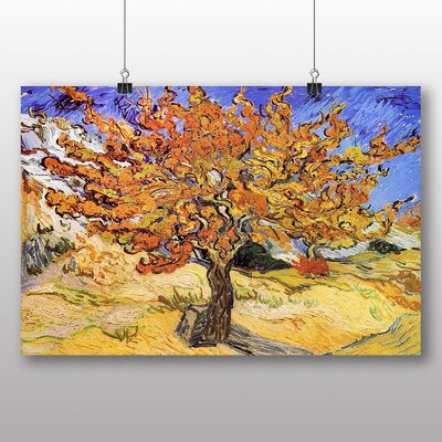 Big Box Art 'Mulberry tree' by Vincent Van Gogh Art Print