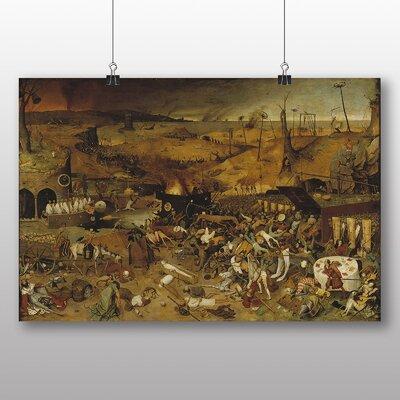 Big Box Art 'The Elder the Triumph of Death' by Pieter Bruegel Art Print