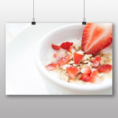 Big Box Art 'Strawberries and Cereal Breakfast' Photographic Print