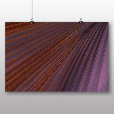 Big Box Art Purple Abstract No.4 Graphic Art