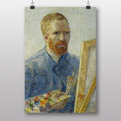 Big Box Art Self Portrait No.2 by Vincent Van Gogh Art Print