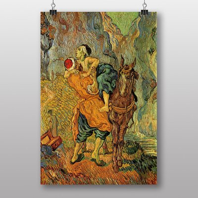 Big Box Art The Good Samaritan by Vincent Van Gogh Art Print