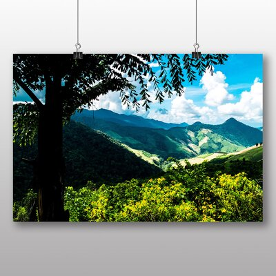 Big Box Art Mountain landscape Thailand No.3 Photographic Print