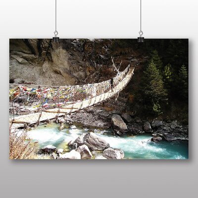 Big Box Art Mount Everest Mountain No.1 Photographic Print
