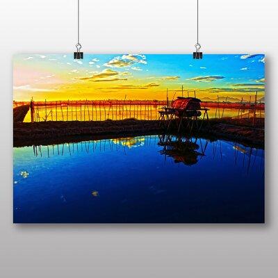 Big Box Art Silent Sunrise Photographic Print