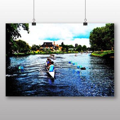 Big Box Art Rowers Rowing Cambridge Photographic Print