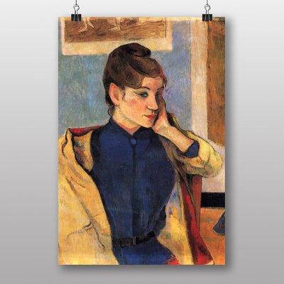 """Big Box Art """"Madeleine Bernard"""" by Paul Gauguin Art Print"""