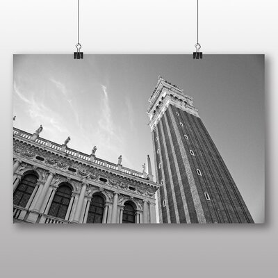 Big Box Art Piazza San Marco Venice Italy Photographic Print