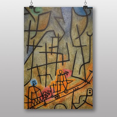 Big Box Art Conquest of the Mountain by Paul Klee Art Print