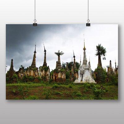 Big Box Art Pagoda Temple Burma Photographic Print