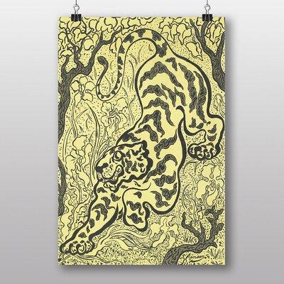 "Big Box Art ""The Tiger"" by Paul Ranson Art Print"