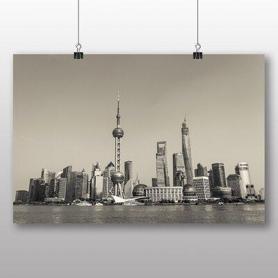 Big Box Art Shanghai China Skyline Photographic Print