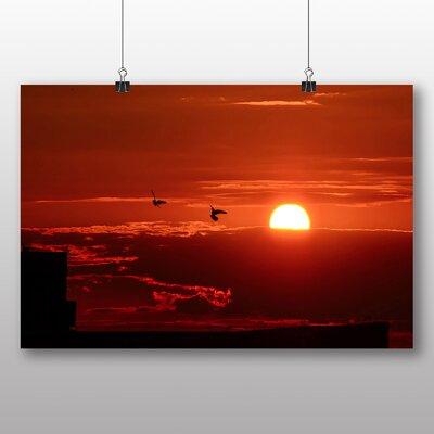 Big Box Art Sunset No.2 Photographic Print