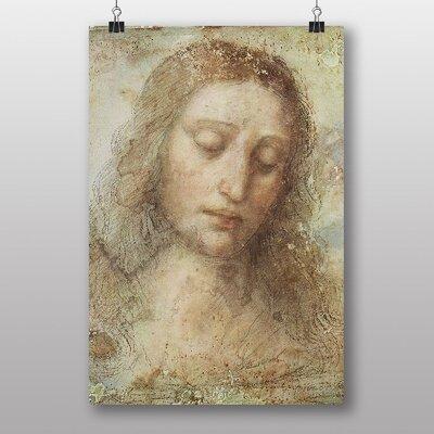 Big Box Art Head of Christ by Leonardo Da Vinci Art Print
