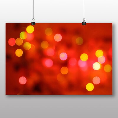 Big Box Art Blurred Fairy Lights Abstract No.1 Graphic Art
