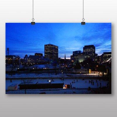 Big Box Art Ottawa Skyline Canada Photographic Print