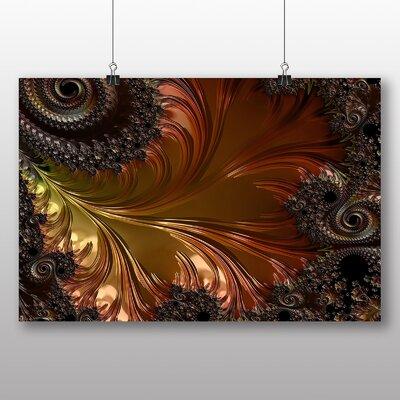 Big Box Art Mixed Fractal Abstract No.1 Graphic Art