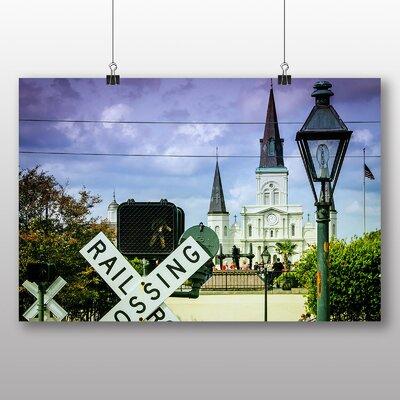 Big Box Art Railroad French Quarter New Orleans USA Photographic Print