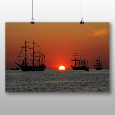 Big Box Art Sailing Ship No.2 Photographic Print