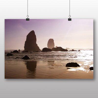 Big Box Art Oregon Beach USA Photographic Print