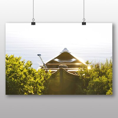 Big Box Art Paddle Boat Photographic Print