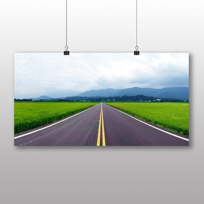 Big Box Art The Open Road Photographic Print