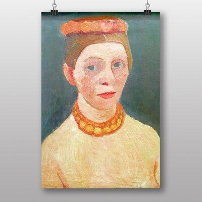 "Big Box Art ""Self Portrait No.7"" by Paula Modersohn Becker Art Print"