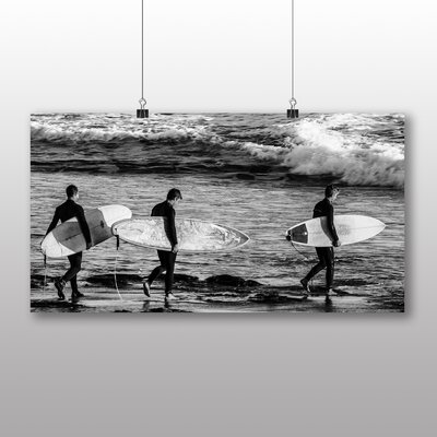 Big Box Art Surfers Surfing Surfboards Photographic Print