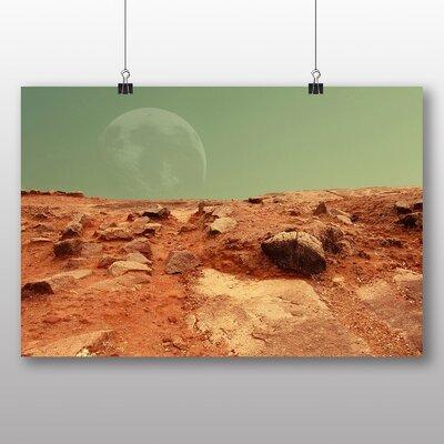 Big Box Art Planet Mars Space Photographic Print