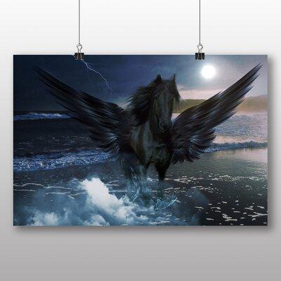 Big Box Art Pegasus Horse Graphic Art