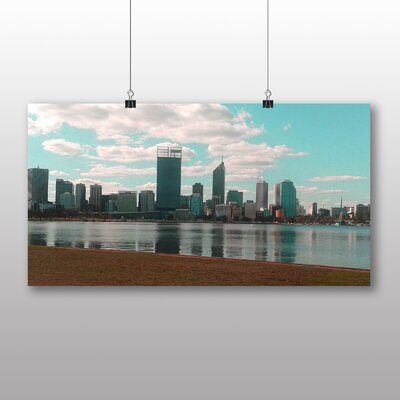Big Box Art Perth Skyline Australia No.2 Photographic Print