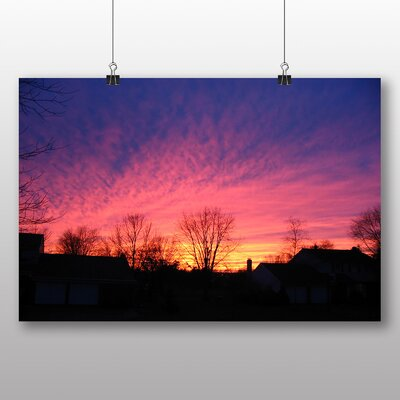 Big Box Art Pennsylvania Winter Sunset Photographic Print