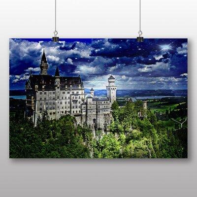Big Box Art Neuschwanstein Bavaria No.2 Photographic Print