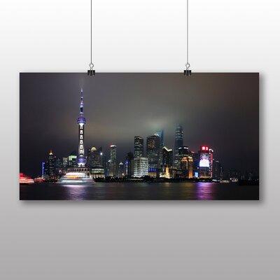 Big Box Art Shanghai China Skyline No.1 Photographic Print