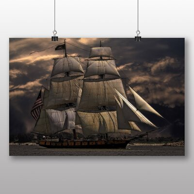 Big Box Art Sailing Ship No.1 Photographic Print