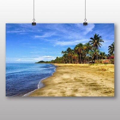 Big Box Art Palm Tree Tropical Beach Paradise No.5 Photographic Print