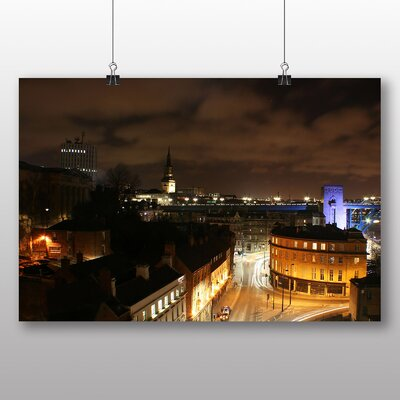 Big Box Art Newcastle Skyline Photographic Print