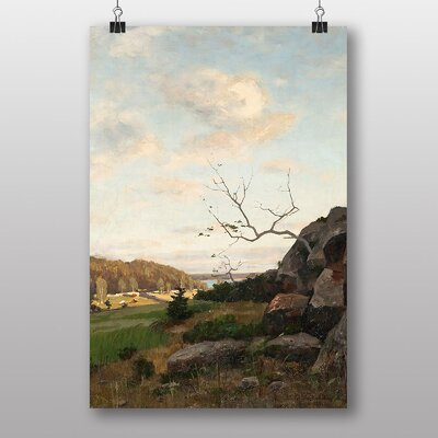 Big Box Art Landscape by Victor Westerholm Art Print